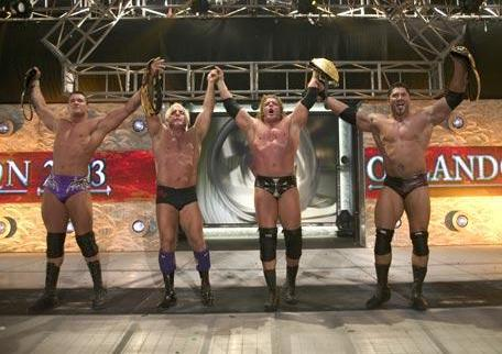 Evolution with Championship Belts