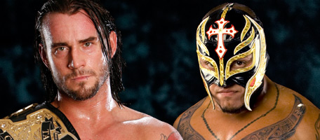 Rey Mysterio vs CM Punk - Intercontinental Title Tournament finals