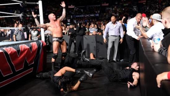 Roman Reigns vs Randy Orton