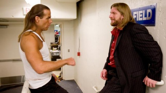 Triple-H and Shawn Michaels