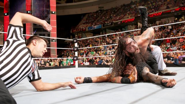 The Wyatt Family defeated The Shield