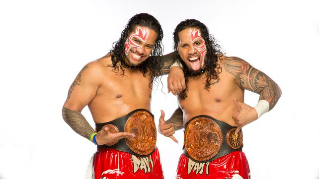 Jey Uso and Jimmy Uso