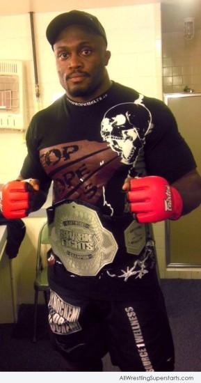 Amazing Wrestler Bobby Lashley