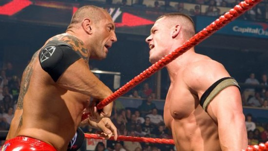 Batista In Anger With John Cena