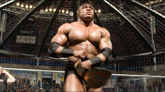 Bobby Lashley After His Victory