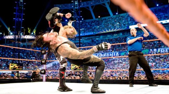 Edge Big Boot On Undertaker