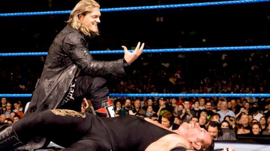 Edge Doing Undertaker Signature After Beat Him