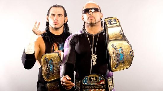 MVP With Matt Hardy With their Tittle Belt