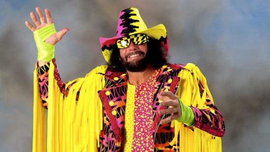 Macho Man Wear Matching Glasses With His Clothes