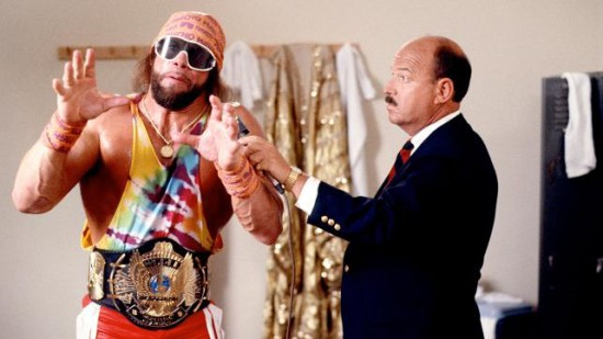 Macho Man With His Tittle