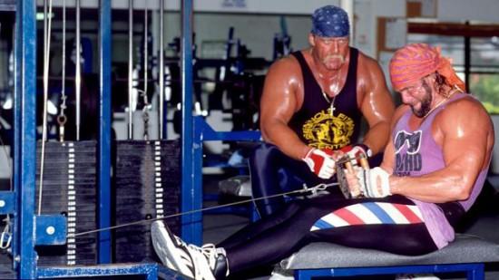 Macho Man Workout At Gym