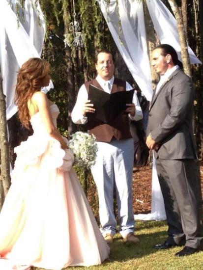 Marriage Photo Of Matt Hardy