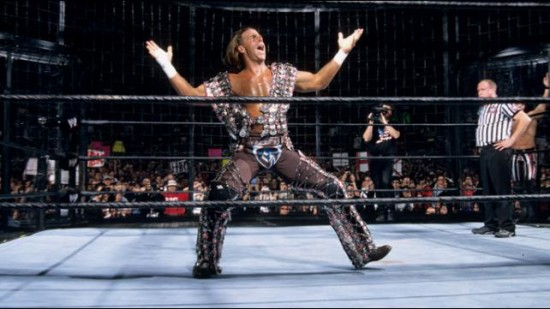 Shawn Micheals In Elimination Chamber