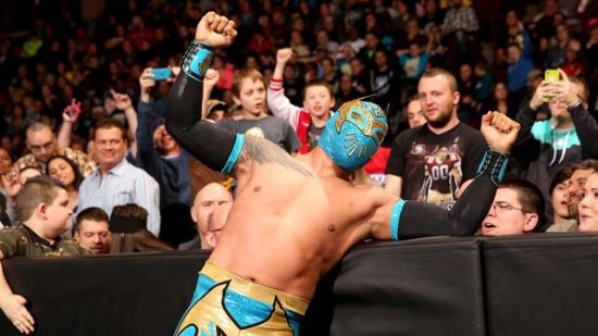 Sin Cara After His Victory