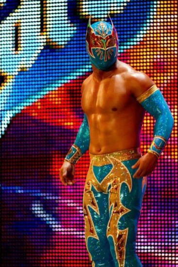 Sin Cara On Entrance Ramp oF WWE