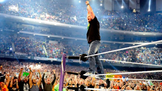Stone Cold On Top OF The Rope