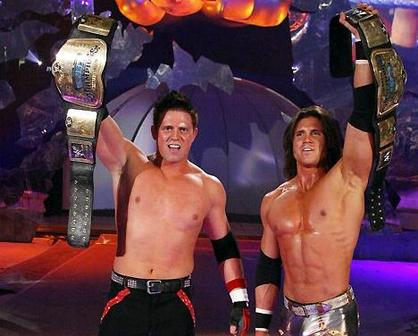 The Miz and Morrison With Their Tittles