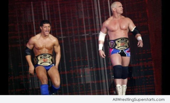 World Tag Team Champions Cody Rhodes & Hardcore Holly