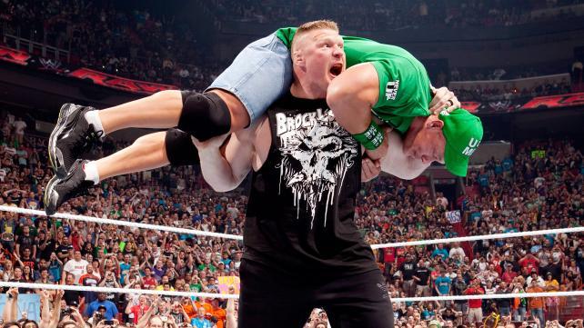 Brock Lesnar In Action