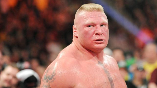 Brock Lesnar In Full OF His Anger
