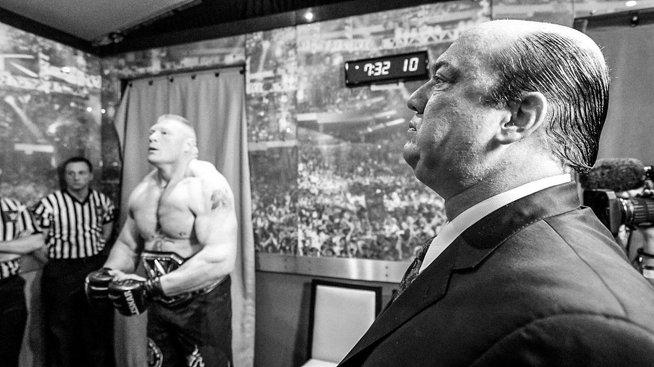 Brock Lesnar Muscular Pose