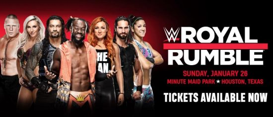 WWE Royal Rumble matches for January 26, 2020