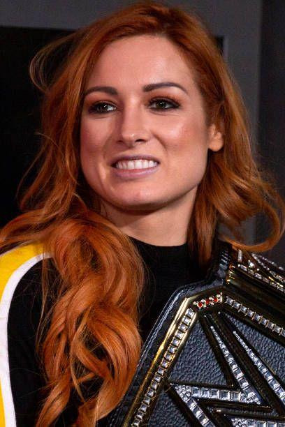Becky Lynch Smiling