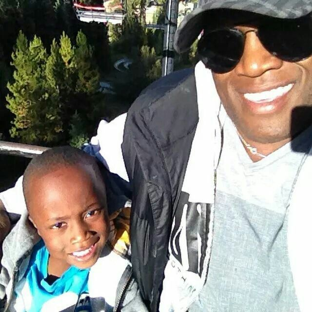 Bobby Lashley  with His Son