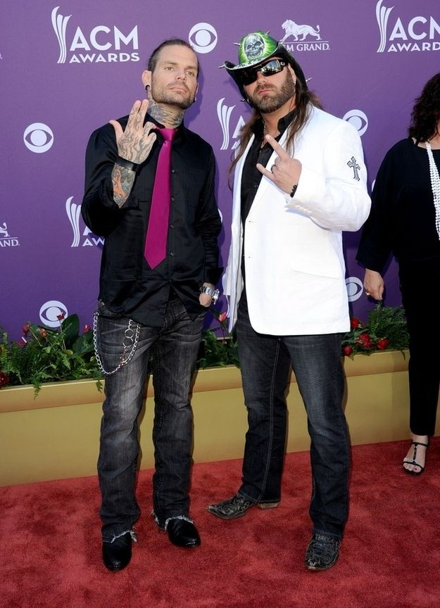 Jeff Hardy with James Storm