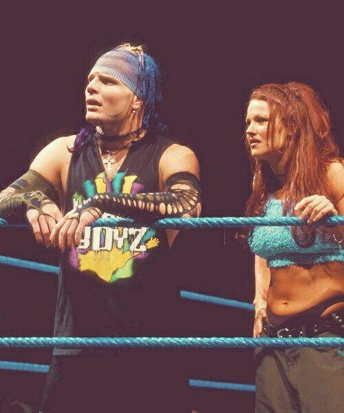 Jeff Hardy with Lita