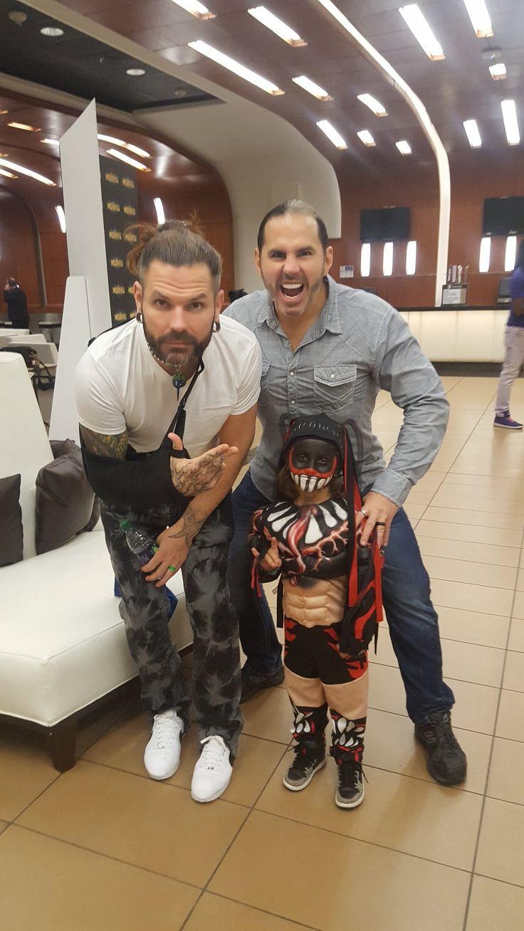 Jeff Hardy with Matt Hardy