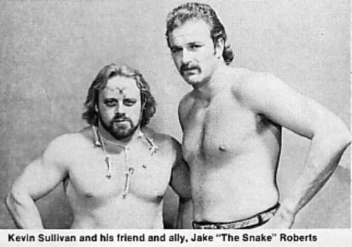 Kevin Sullivan with Jake The Snake