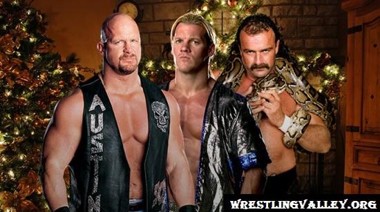 Stone Cold, Chris Jericho & Jake Roberts