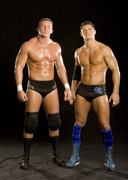 Ted DiBiase and Cody Rhodes WWE Superstars Wrestling Media