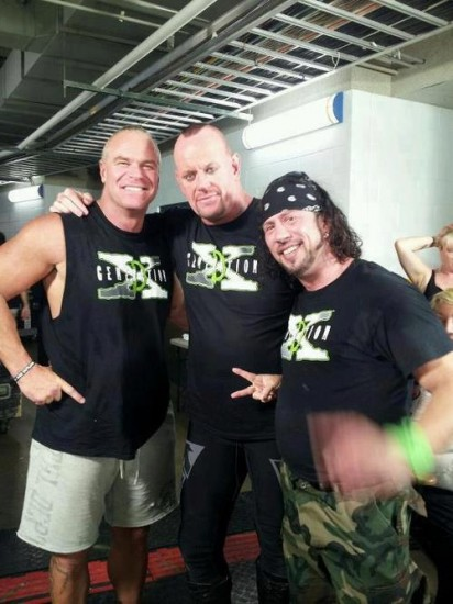 The Undertaker and DX